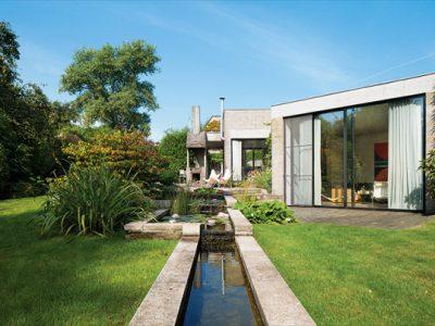 Concrete Home in Rural Belgium
